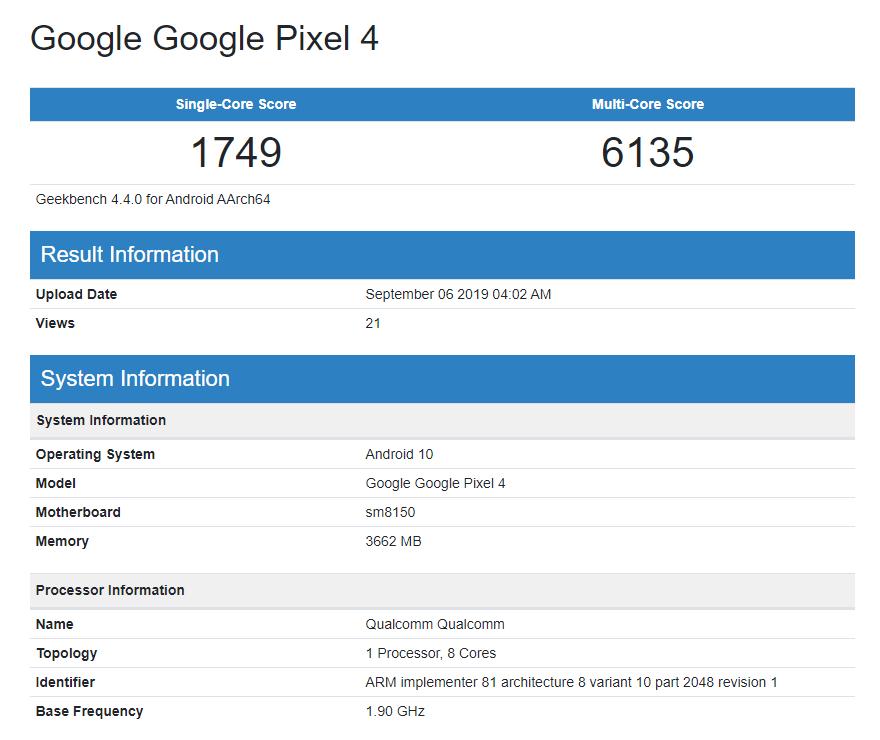geekbench-pixel-4