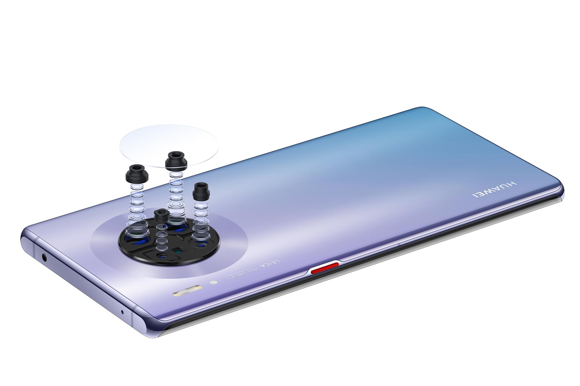 Vi piace Huawei Mate 30? Per il momento potete avere solo gli sfondi (foto)