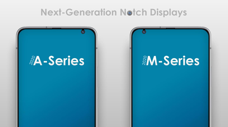 Samsung sta per rimpicciolire il buco nel display nei prossimi medio gamma (foto)
