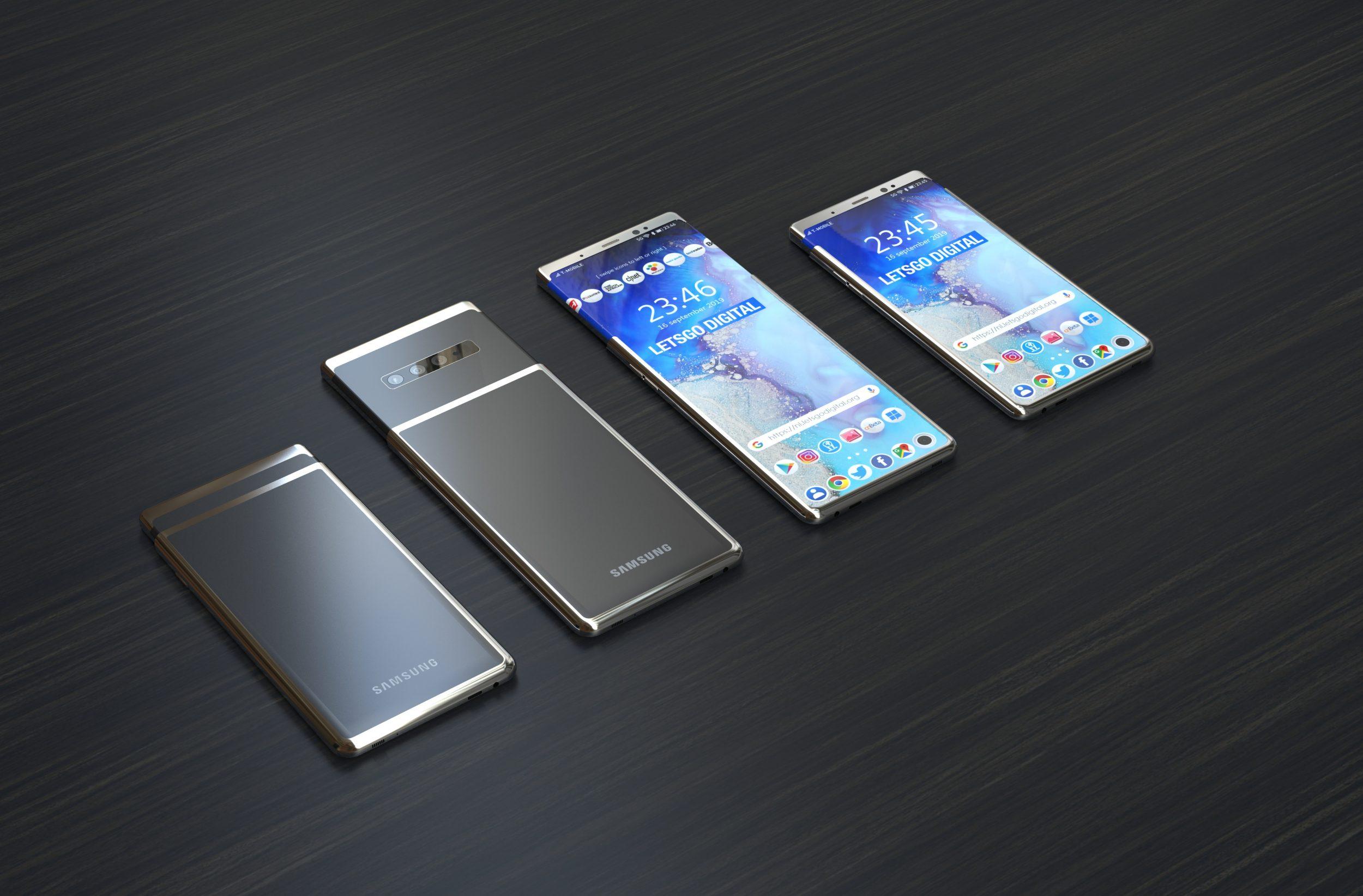 Samsung brevetta il primo smartphone con display estensibile: ci sono speranze per vederlo come Galaxy S11+? (foto)