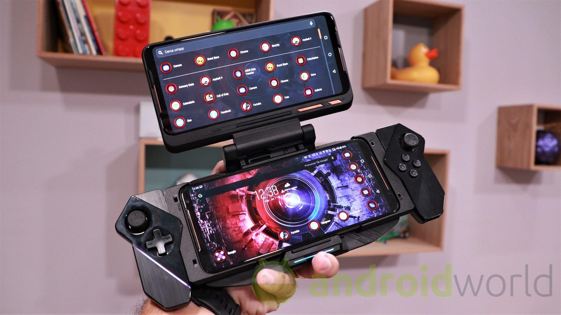 ROG Phone II si aggiorna: novità per la mappatura dei pulsanti e per le personalizzazione degli squeeze