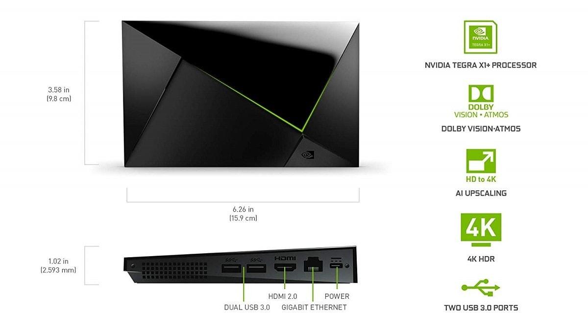 La nuova NVIDIA Shield TV Pro spunta su Amazon (USA) con specifiche e prezzo davvero interessanti (foto | aggiornato: anche Shield TV)