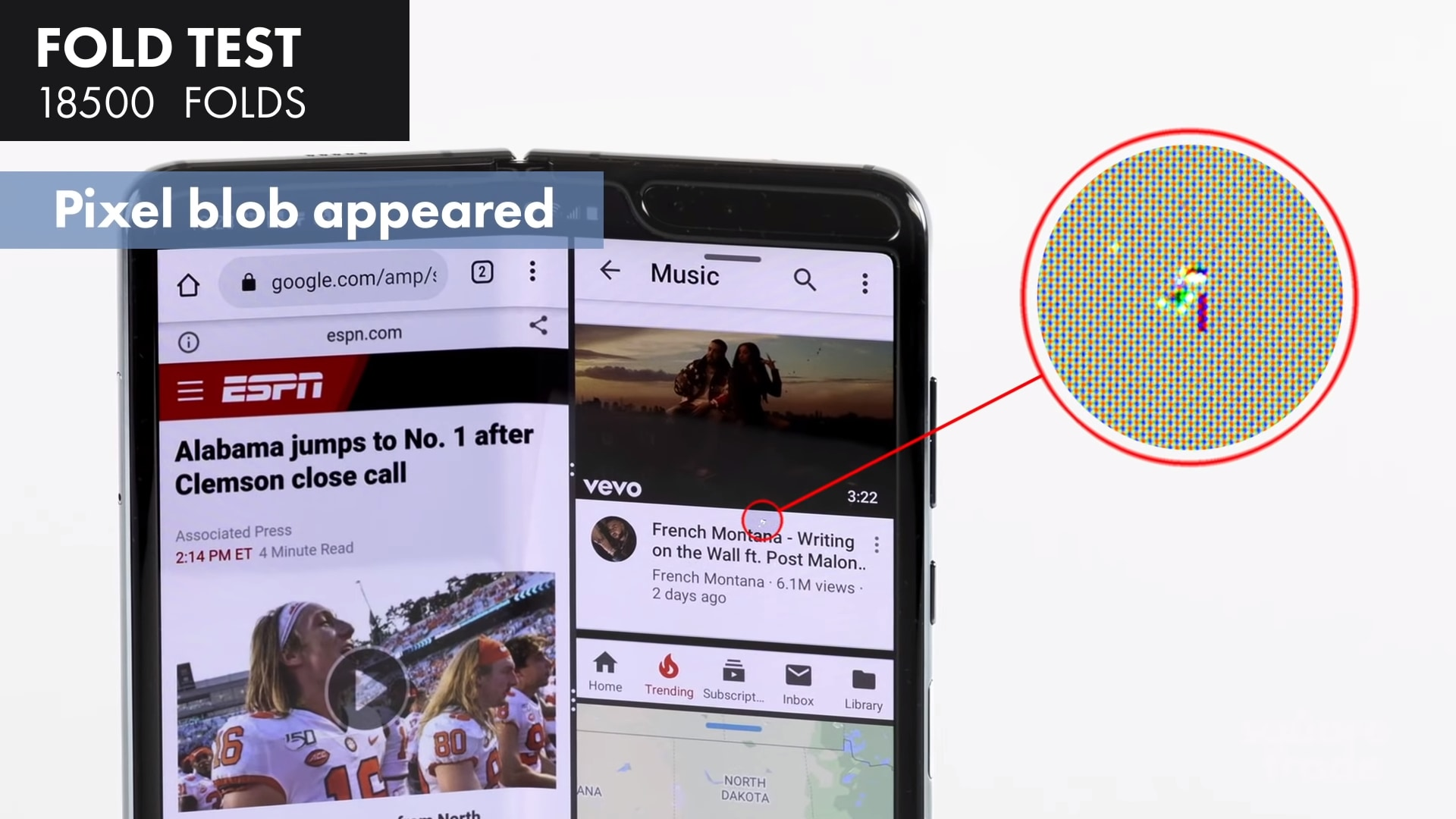 C'è chi ha già provato ad aprire e chiudere Galaxy Fold 120.000 volte (video)