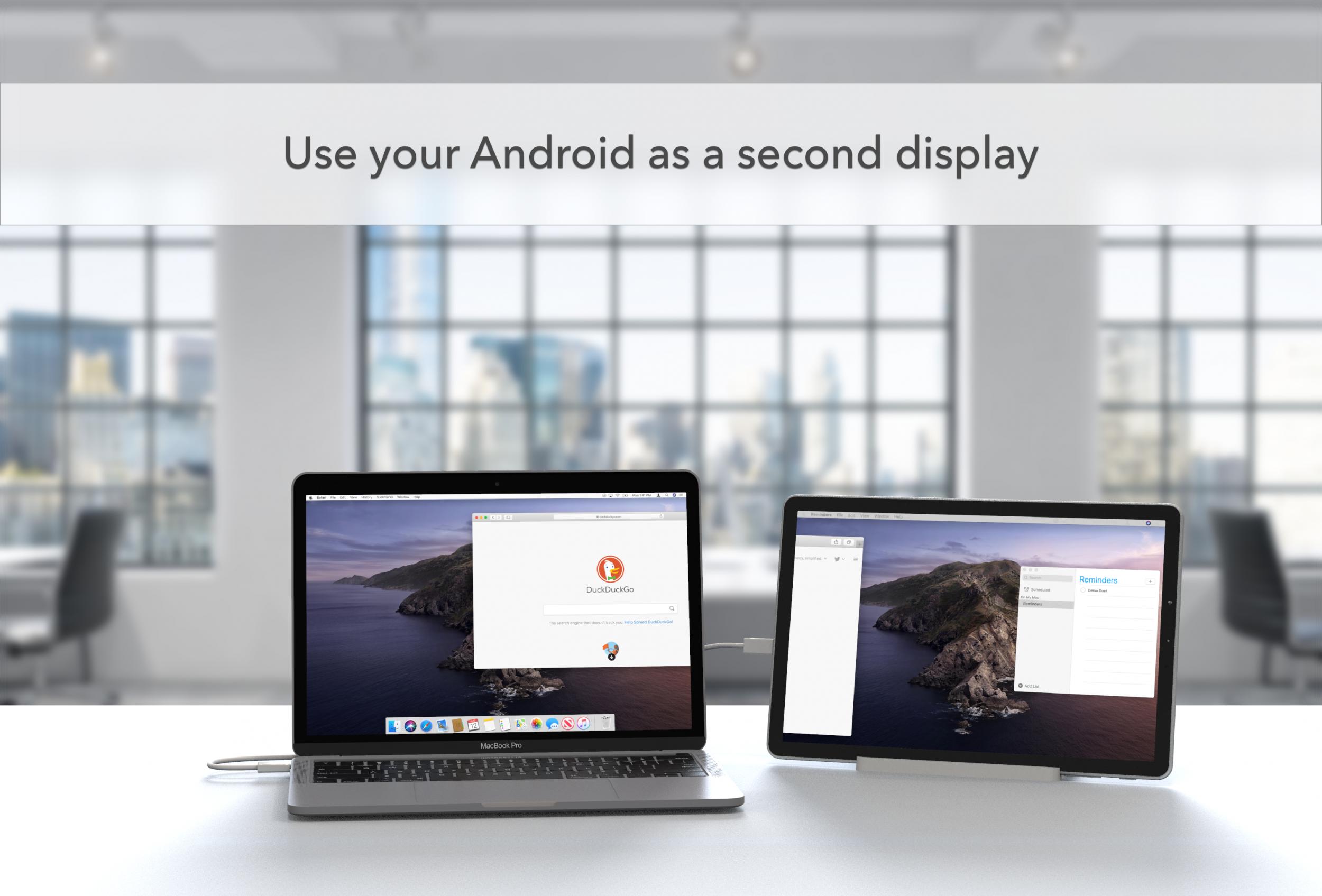 Da iOS ad Android: Duet è disponibile sul Play Store per chi voglia un secondo display