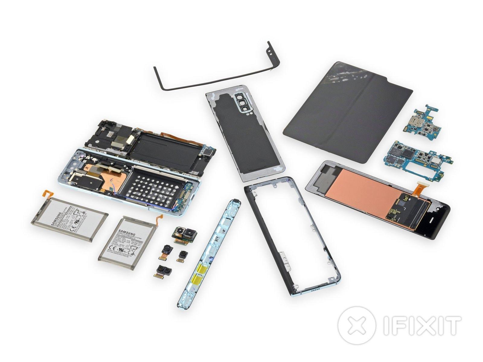 iFixit smonta Galaxy Fold: la flessibilità aiuterà la riparabilità? (foto)