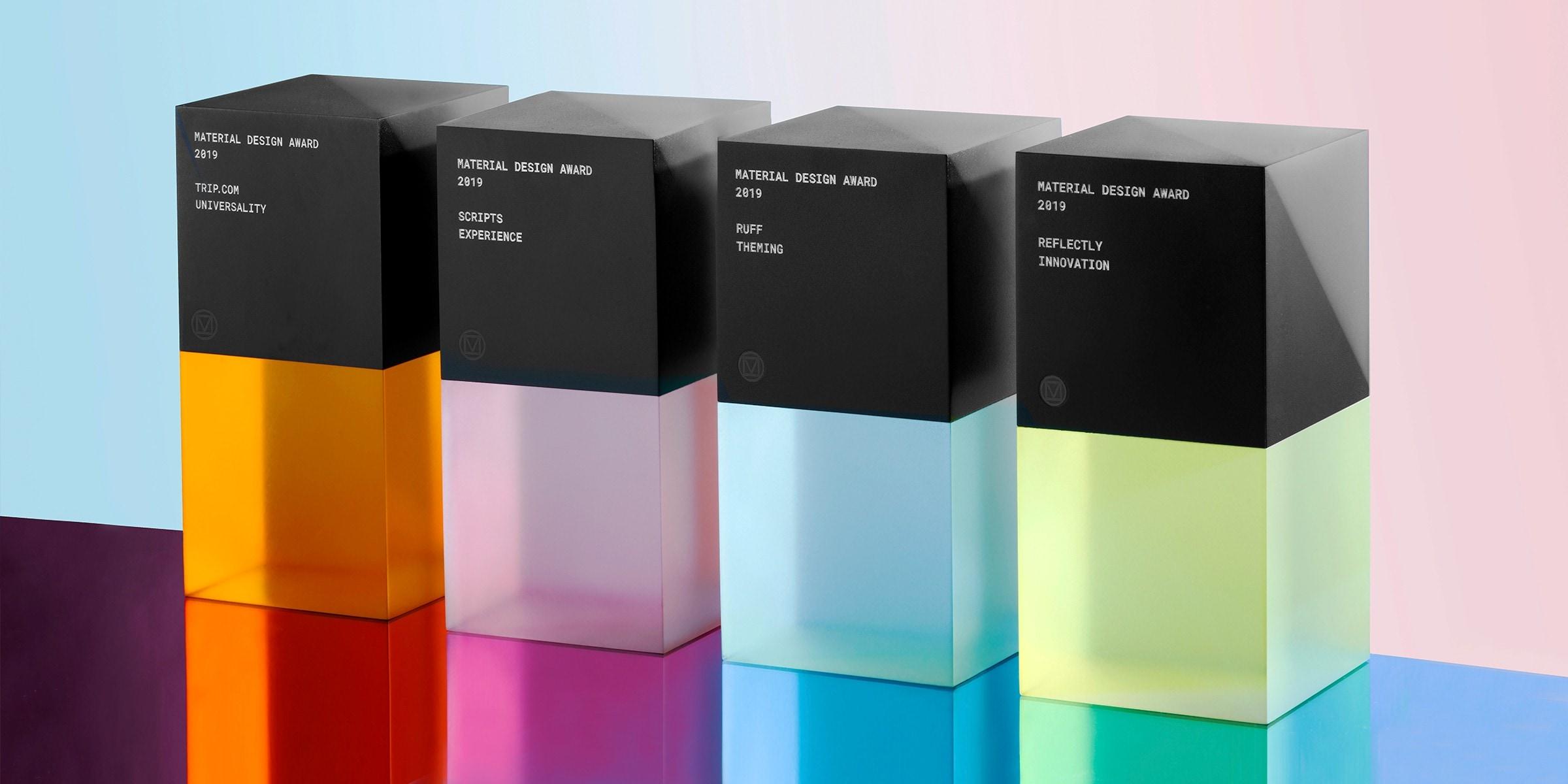 Google premia le migliori app, ecco i quattro vincitori dei Material Design Award 2019