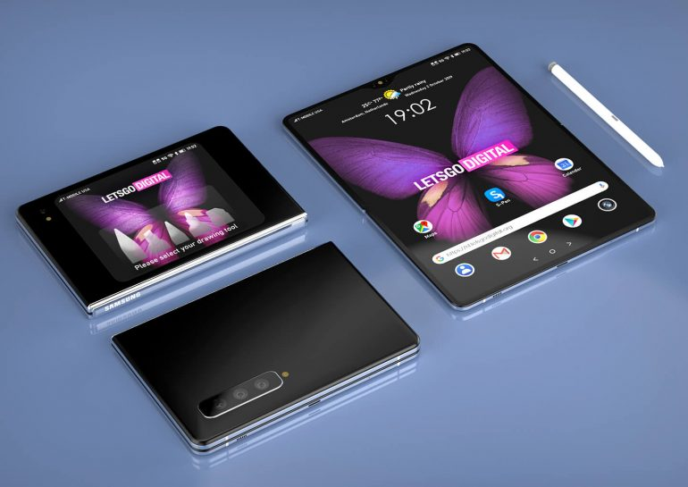 Non ci sono dubbi sul futuro pieghevole di Samsung: questo brevetto potrebbe ispirare un Galaxy Note Fold (foto)