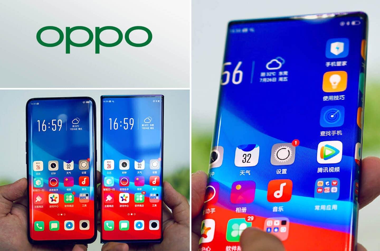Anche Oppo si sta immaginando uno smartphone tutto schermo e display curvo sui quattro lati (foto)