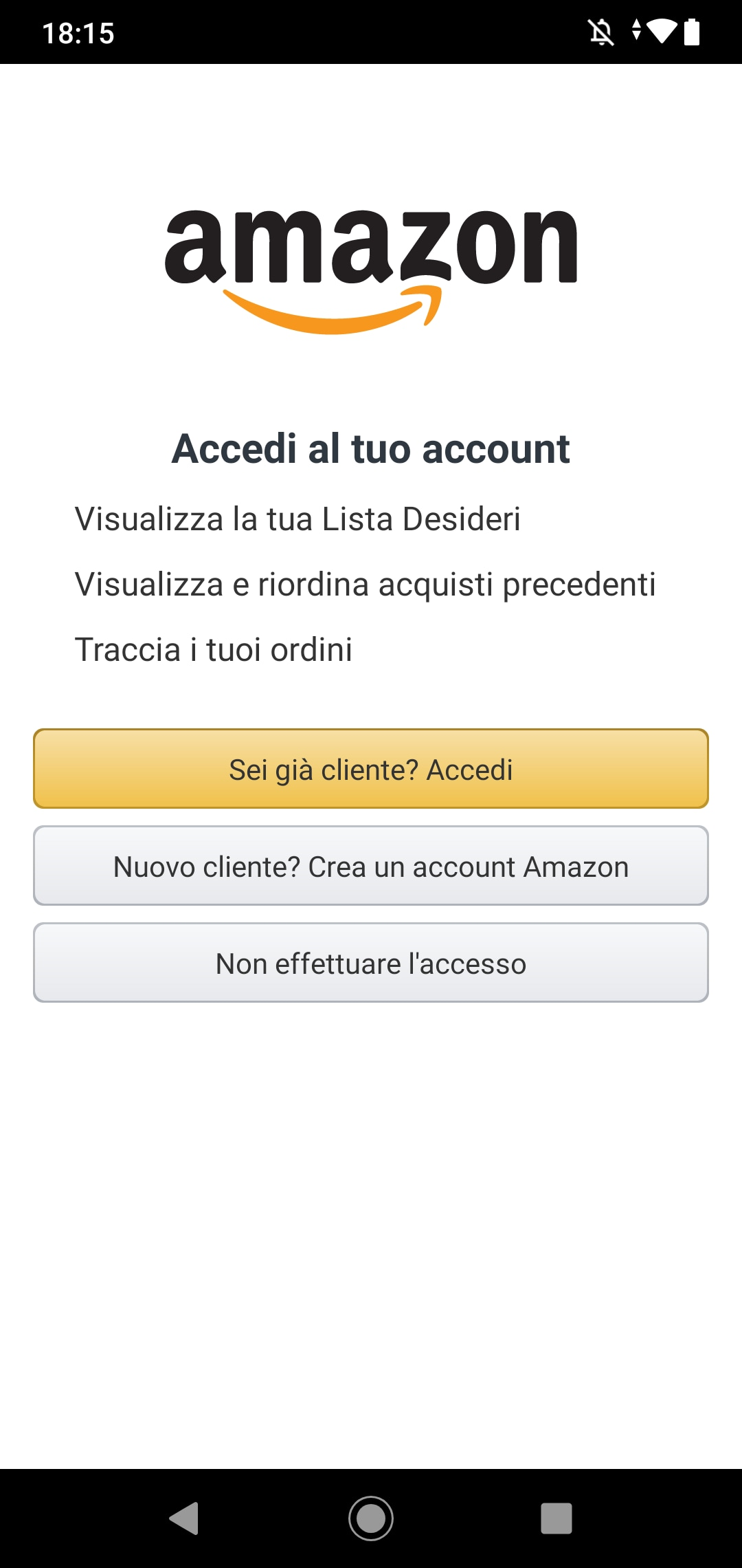 Guida Amazon Android (1)