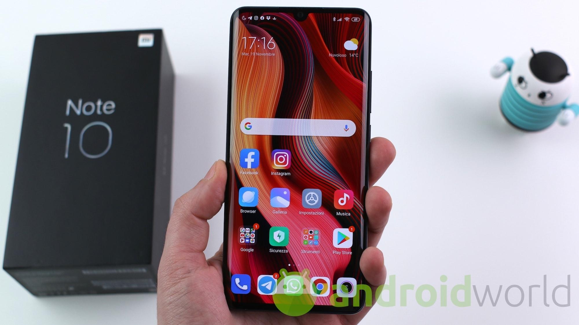 Xiaomi rilascia Android 11 per Redmi Note 8, Xiaomi Mi Note 10 e Mi 10T Lite