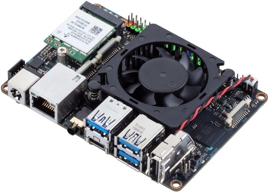 Google ed ASUS hanno creato un computer, basato su Linux o Android, grande quanto una carta di credito (foto)