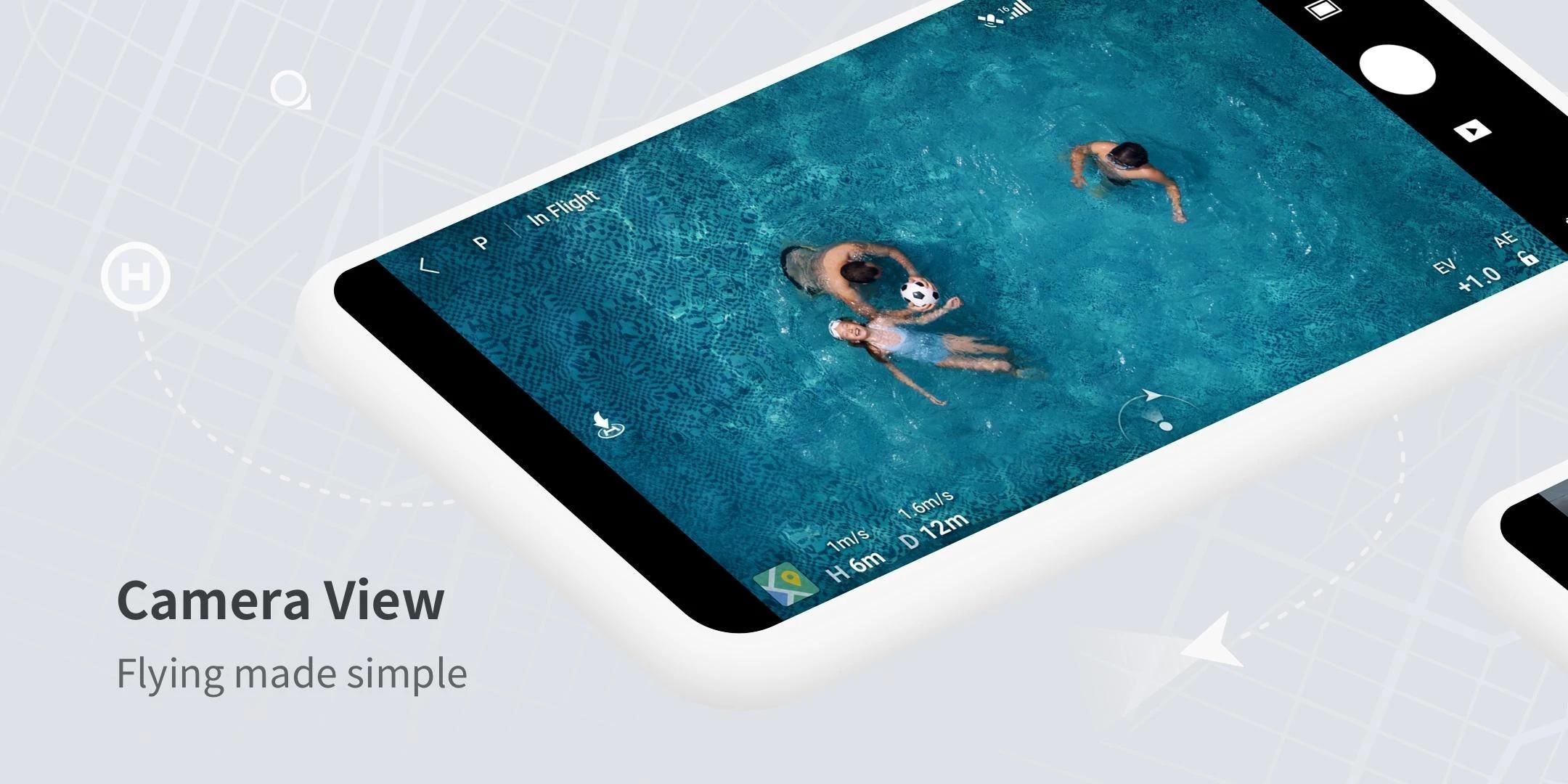 DJI Fly, l'app ufficiale di Mavic Mini, è finalmente disponibile nel Play Store