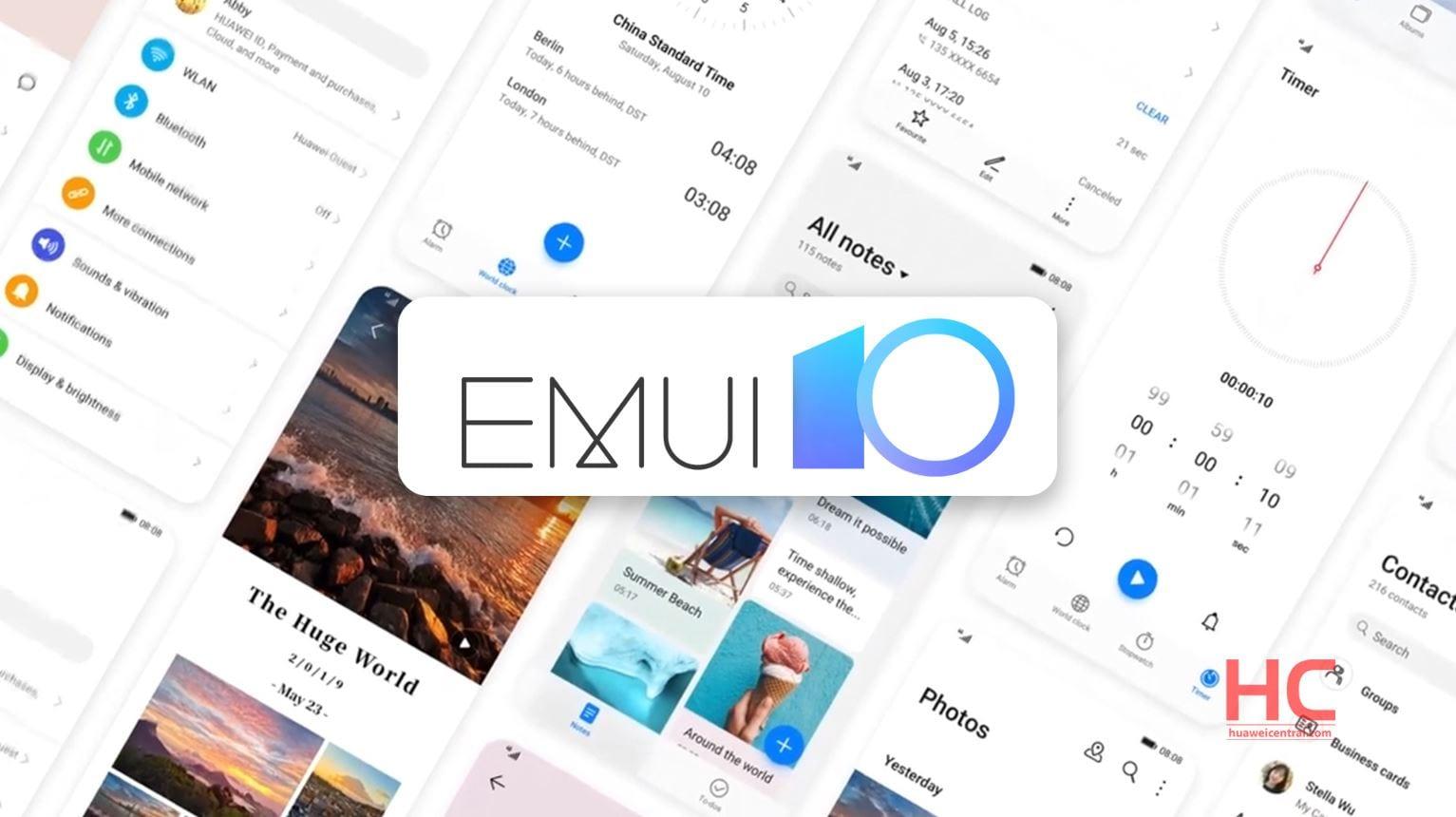 EMUI 10 stabile è sempre più vicina: Huawei P20 e Mate 10 la stanno ricevendo in Cina
