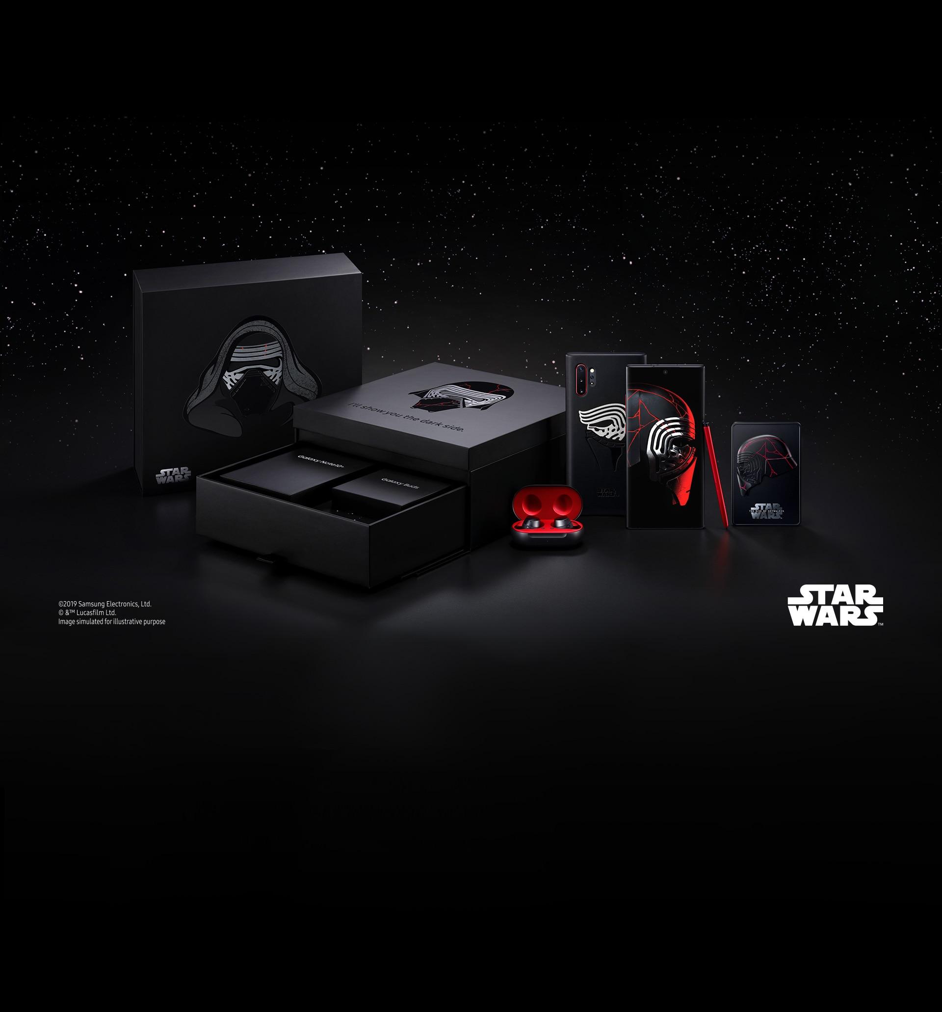 La Forza è ufficialmente con Galaxy Note 10+: il 10 dicembre arriva la Star Wars Edition (foto)