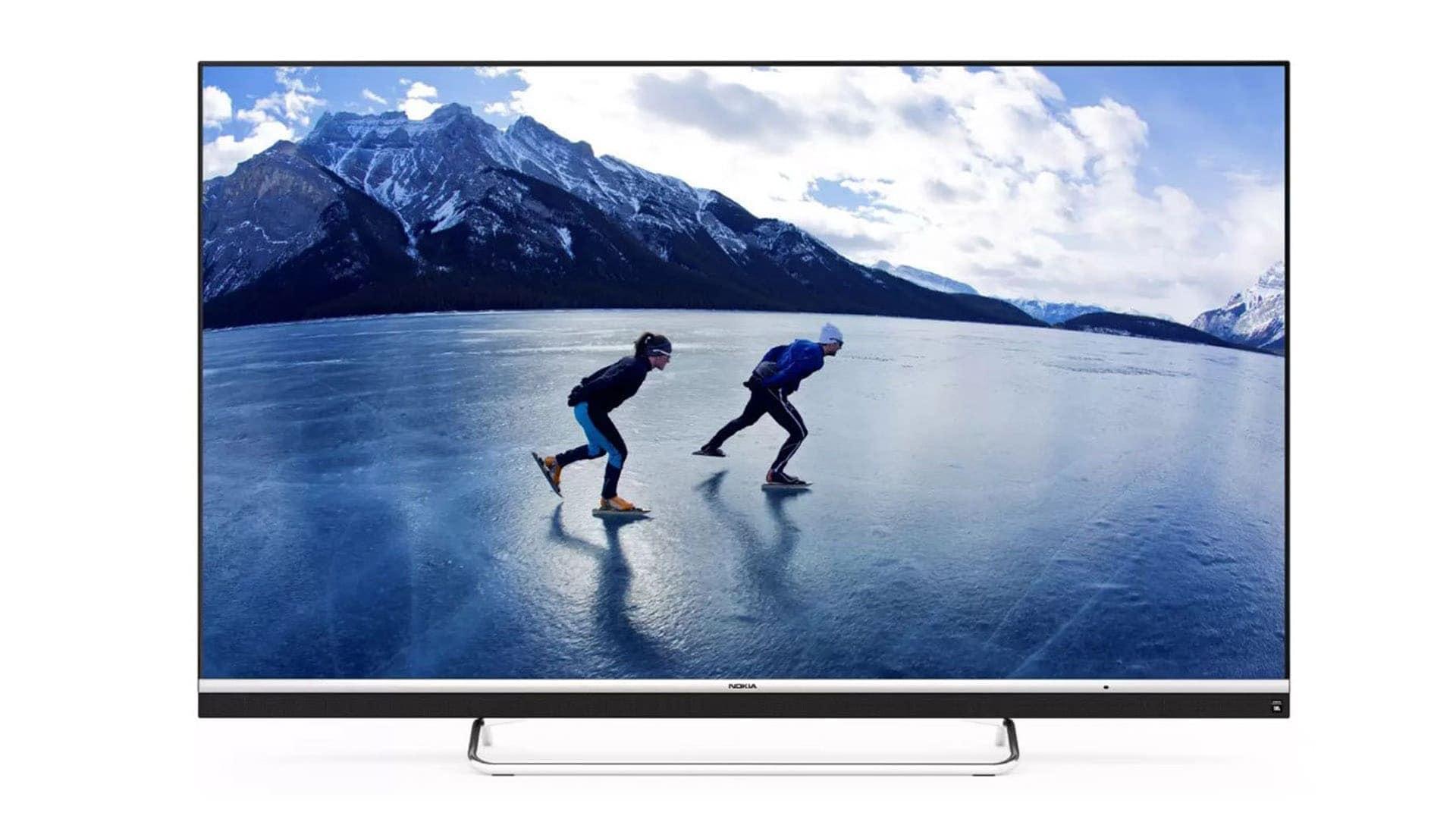 """Nokia lancia la sua prima smart TV in India: 55"""" 4K con Android TV e speaker da 24 W"""