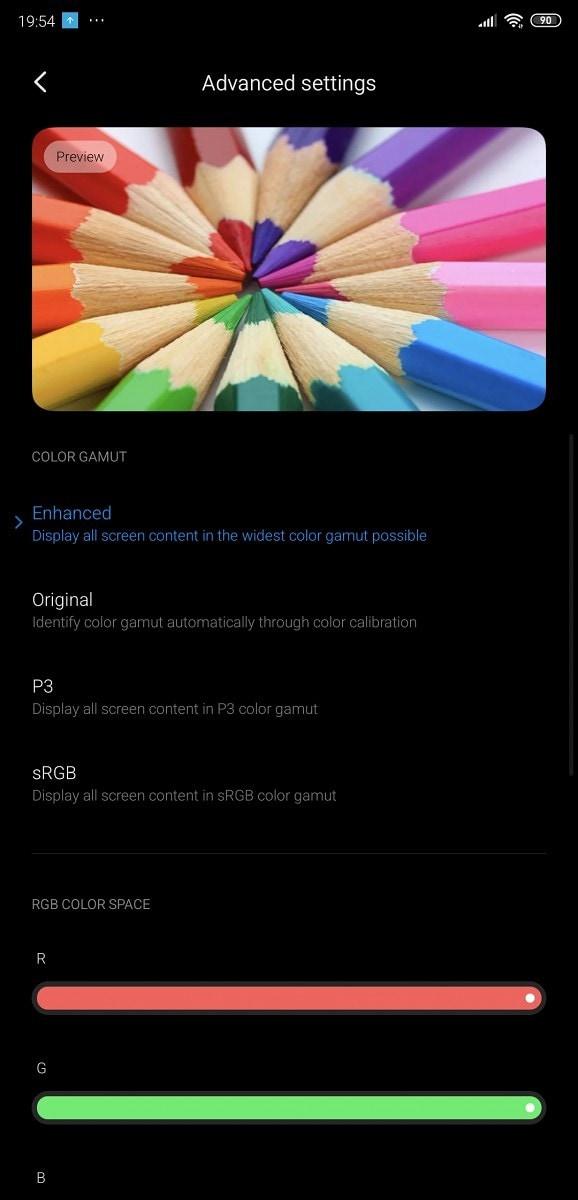 Xiaomi-MIUI-11-advanced-display-calibration-controls-1