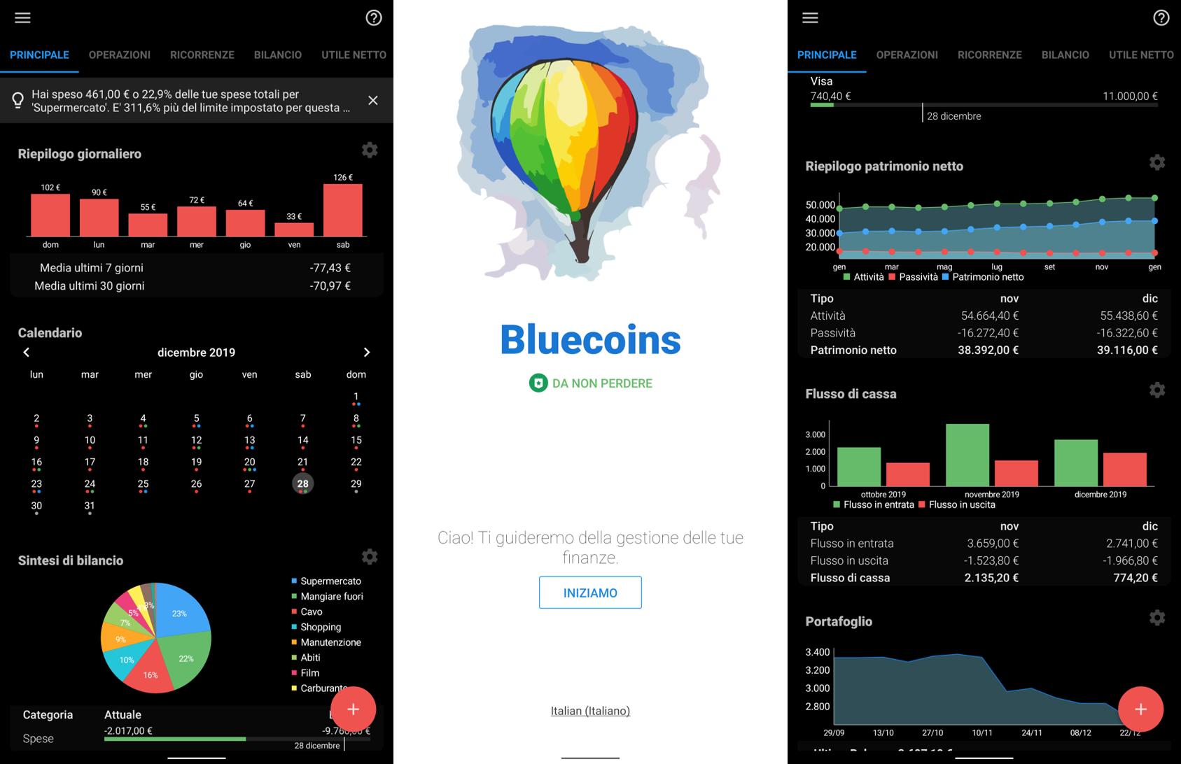 Bluecoins è la risposta a come gestire le vostre finanze e pianificare le spese, tutto in un solo posto (foto)