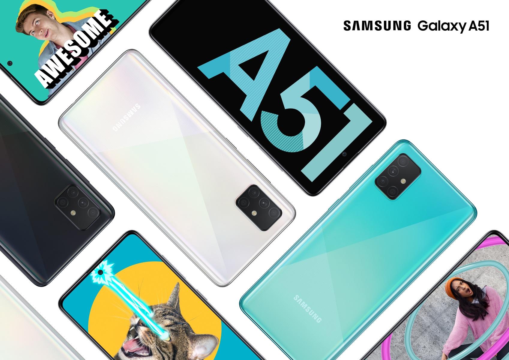 La distribuzione della One UI 3.1 per il Samsung Galaxy A51 inizia dalla Russia