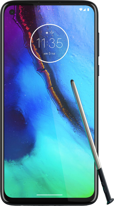 Moto-phone-with-stylus