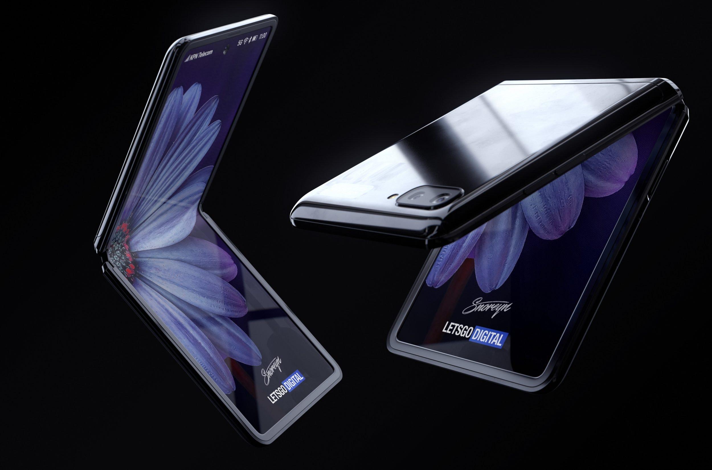 """Samung Galaxy Z Flip verrà lanciato in 4 colorazioni: due tradizionali, una sorpresa e una """"eccentricità"""""""