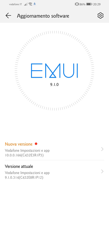huawei p smart 2019 emui 10 android 10 vodafone italia (1)