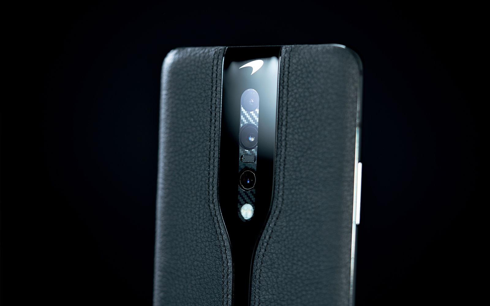 """The next OnePlus could be covered in leather, like Concept One, which is shown in a """"stealth"""" version"""