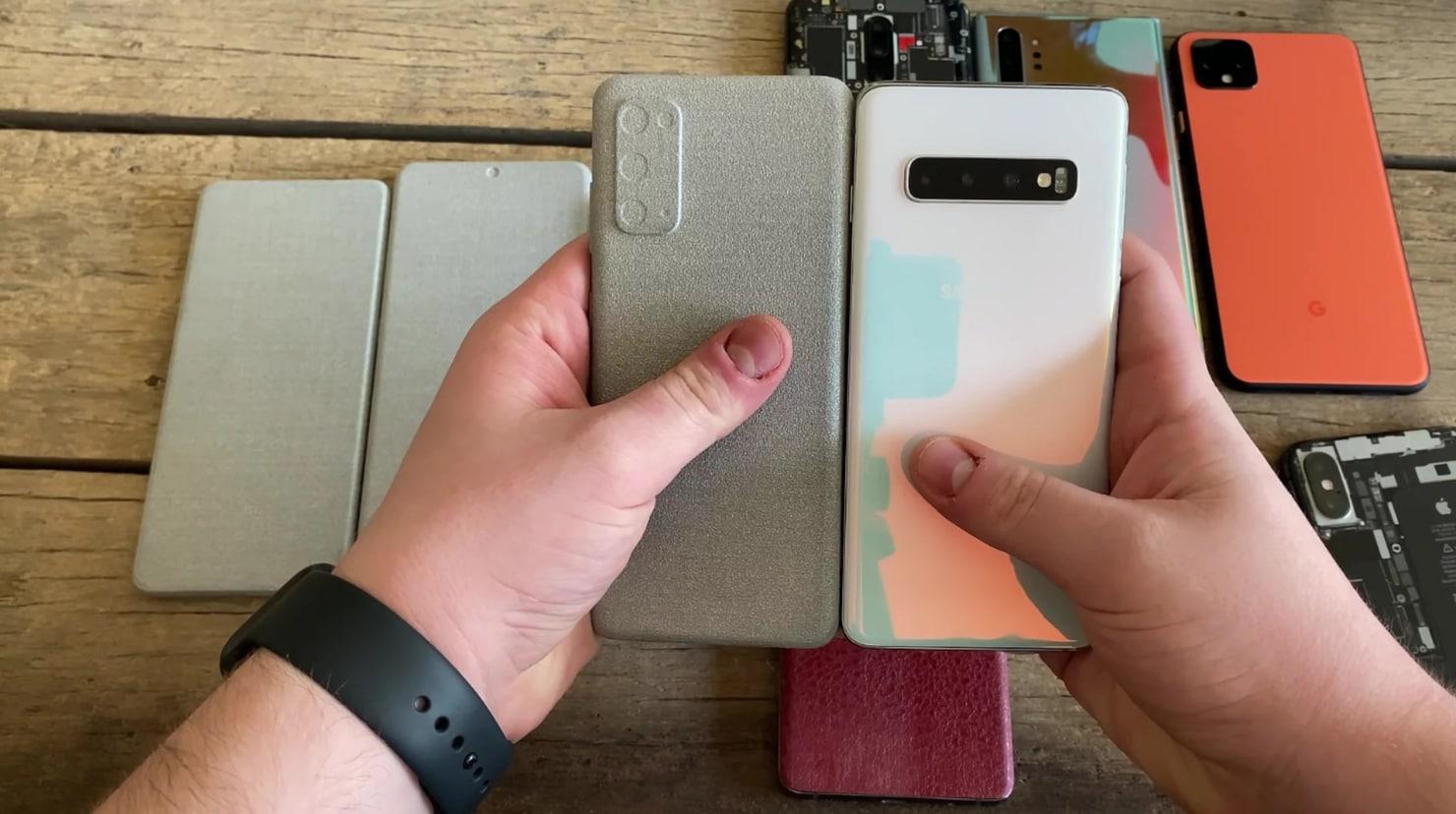 Galaxy S20: più schermo e ancora meno bordi. Ecco un confronto con Note10/S10 (video)