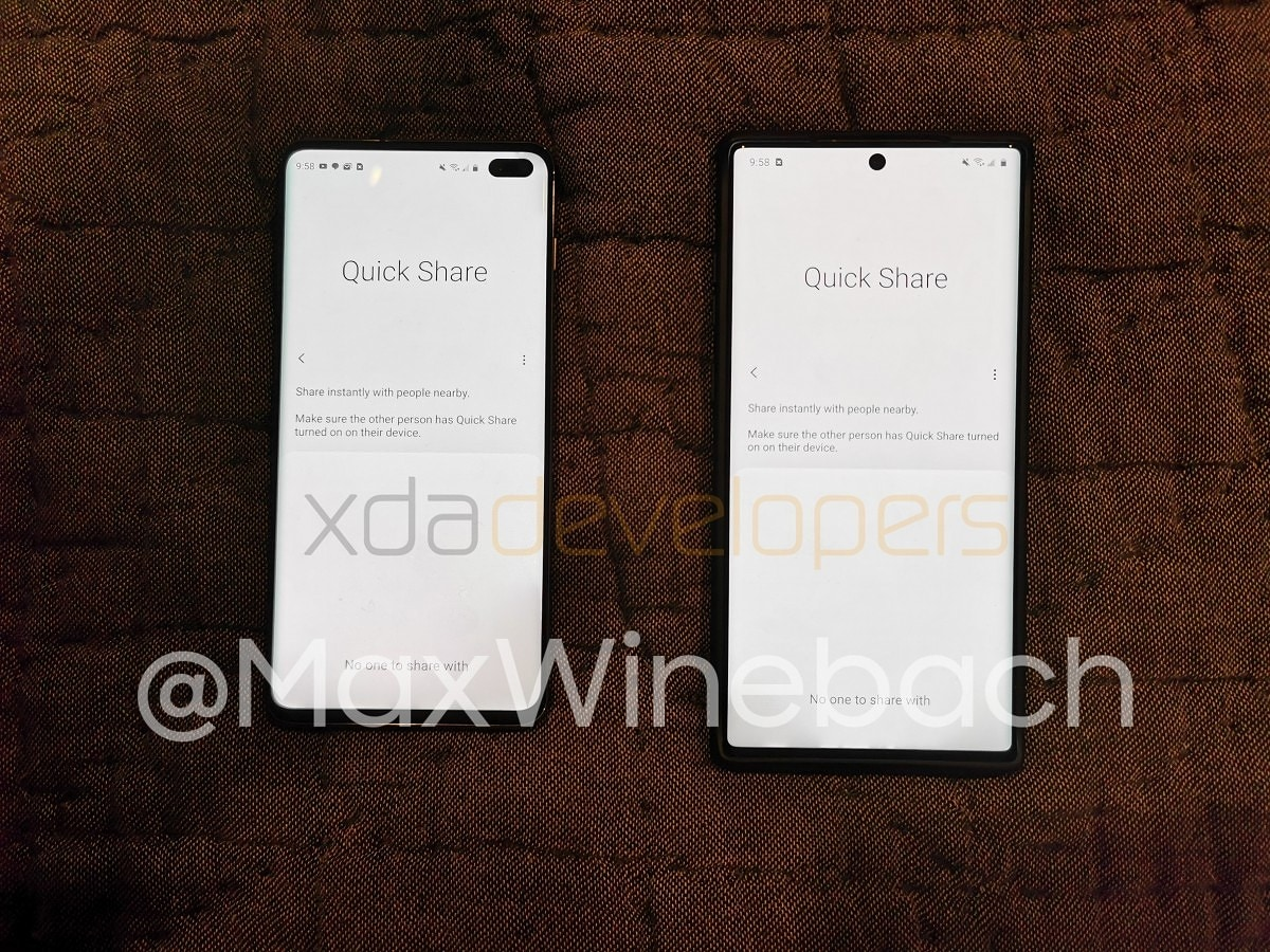 Presto potrete scambiare foto, video e file tra Samsung Galaxy come fanno gli iPhone con AirDrop