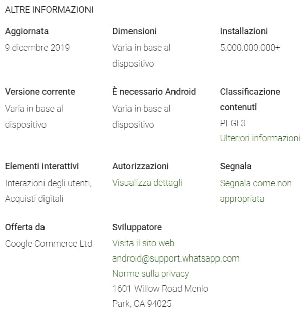 whatsapp-5-miliardi-download-play-store