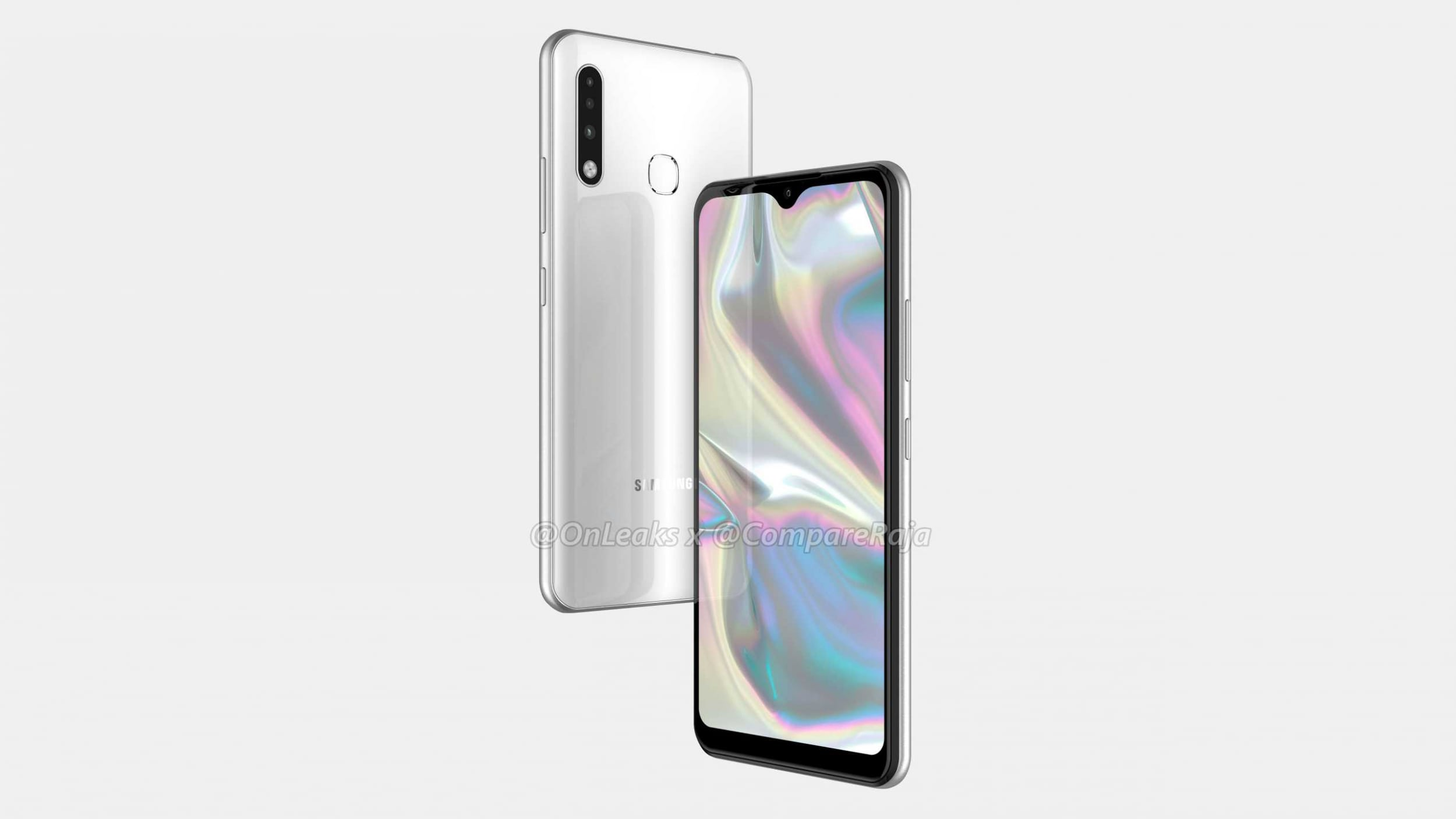 Of Samsung Galaxy A70e we have nothing but these beautiful renders
