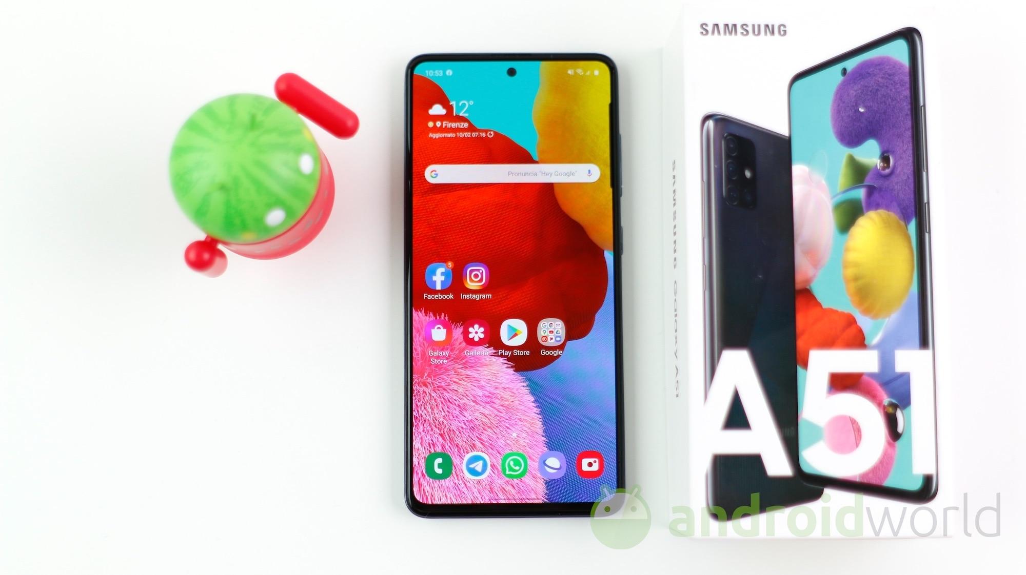 Samsung Galaxy A51 01