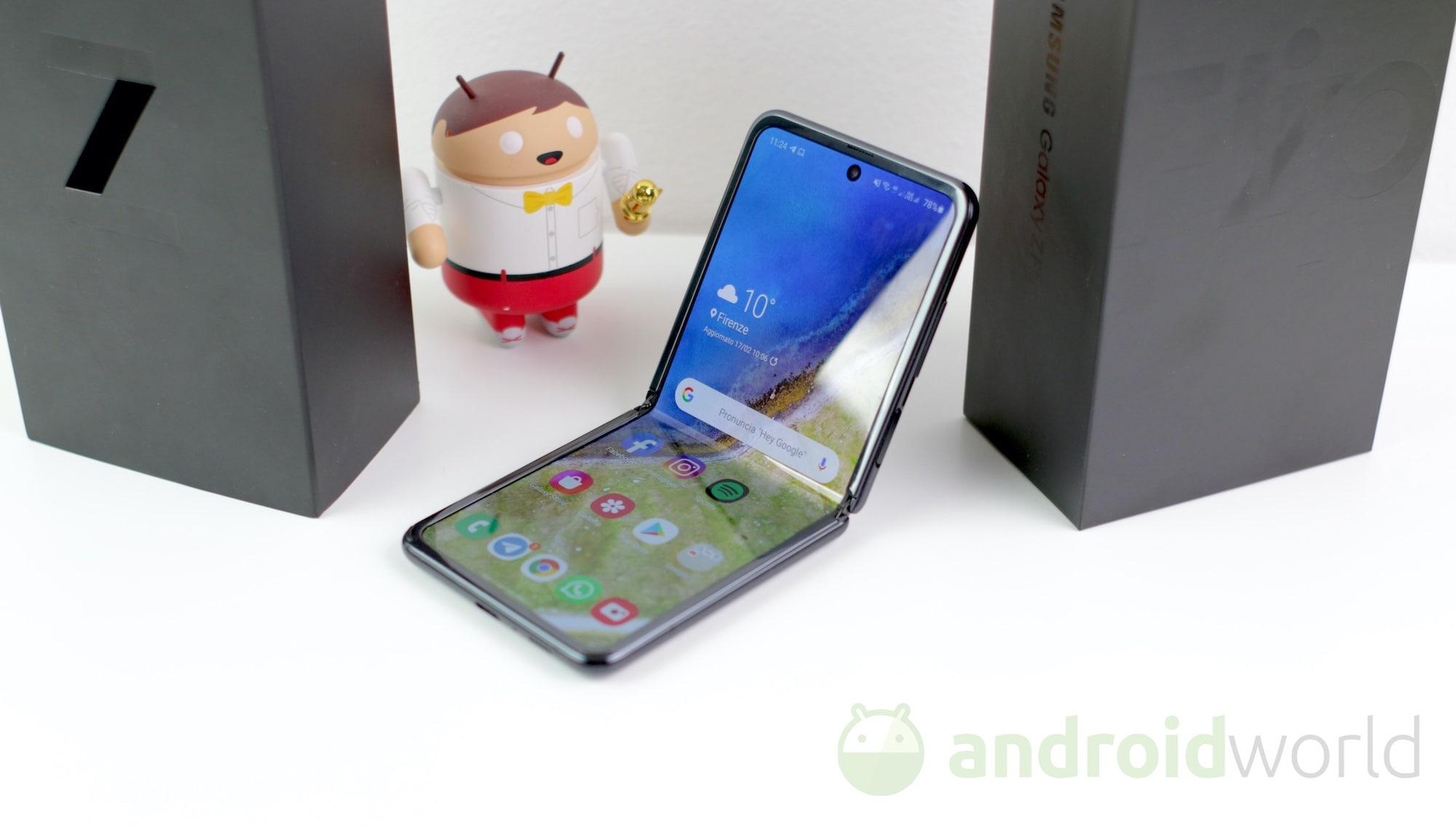 Galaxy Z Flip 5G è in arrivo in Europa: non avrete problemi di spazio con i suoi 256 GB