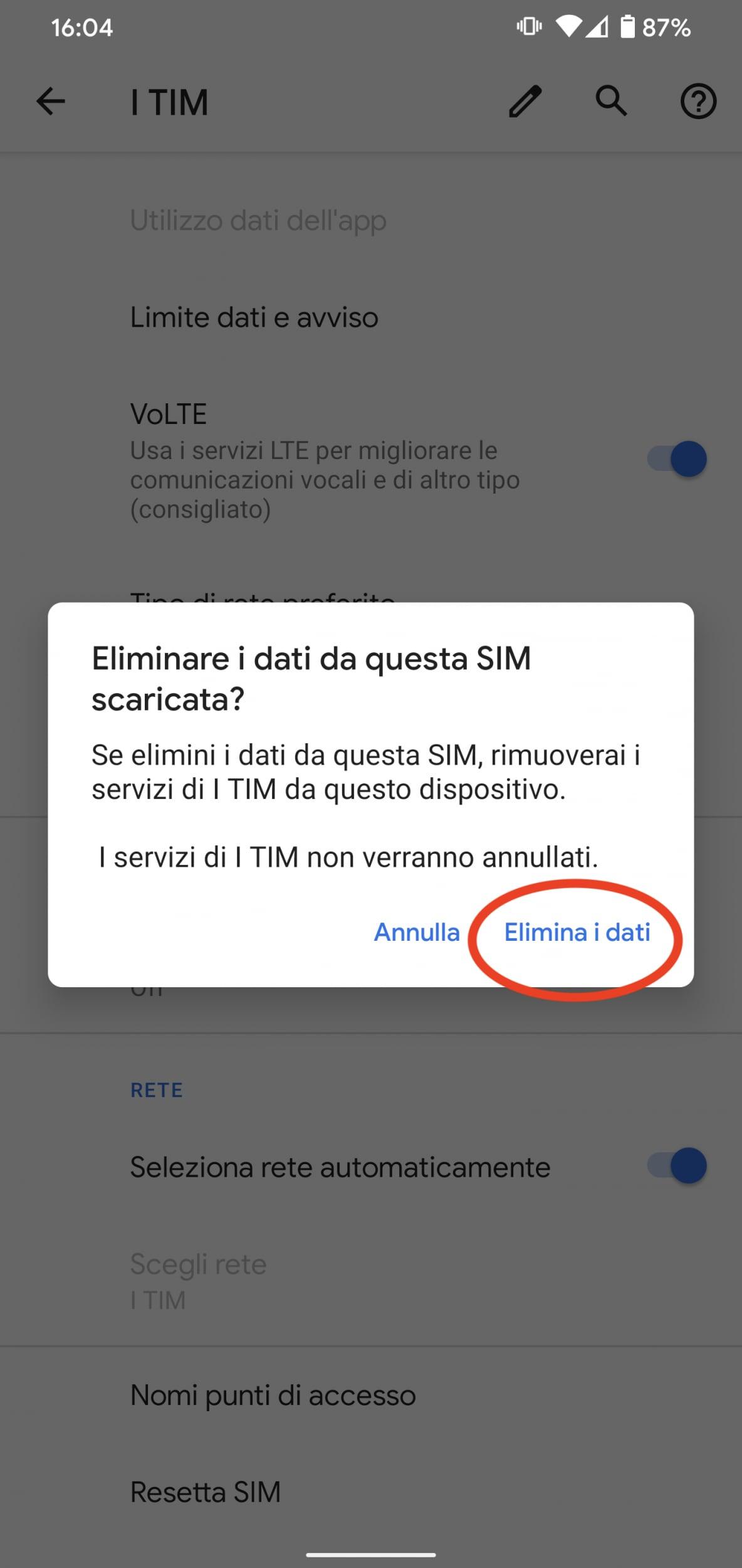 Come attivare la eSIM su uno smartphone Android