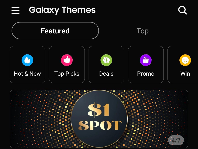 Anche Galaxy Themes si unisce alle app Samsung con tema scuro, ecco come attivarlo (foto e APK download)