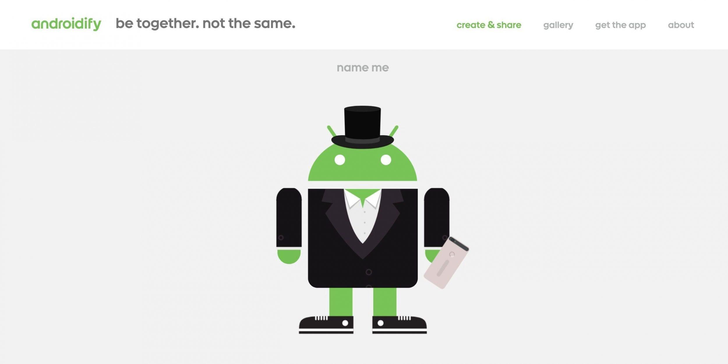 Ve lo ricordate Androidify? Google ha deciso il suo futuro (foto)