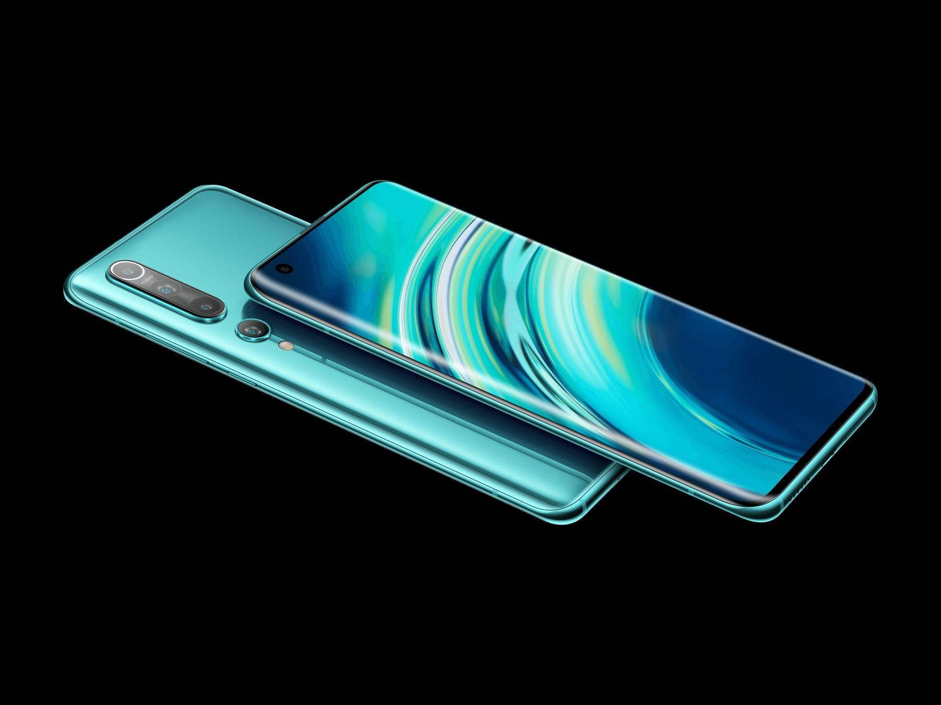 Offerta Amazon per Xiaomi Mi 10 in versione verde da 256 GB