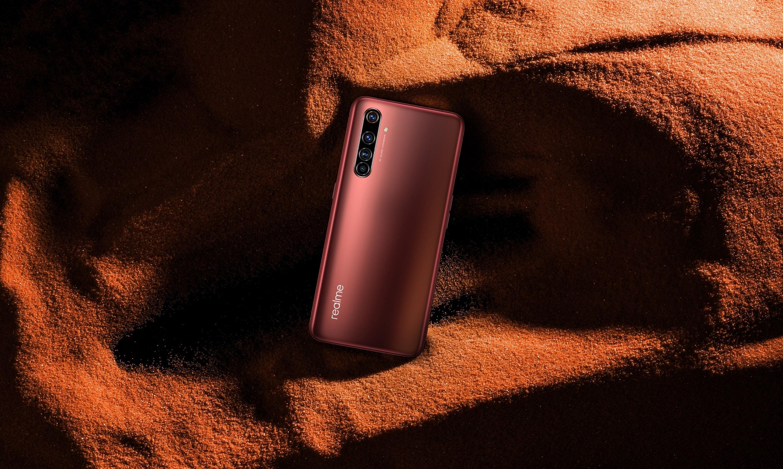 realme X50 Pro 5G – rosso ruggine
