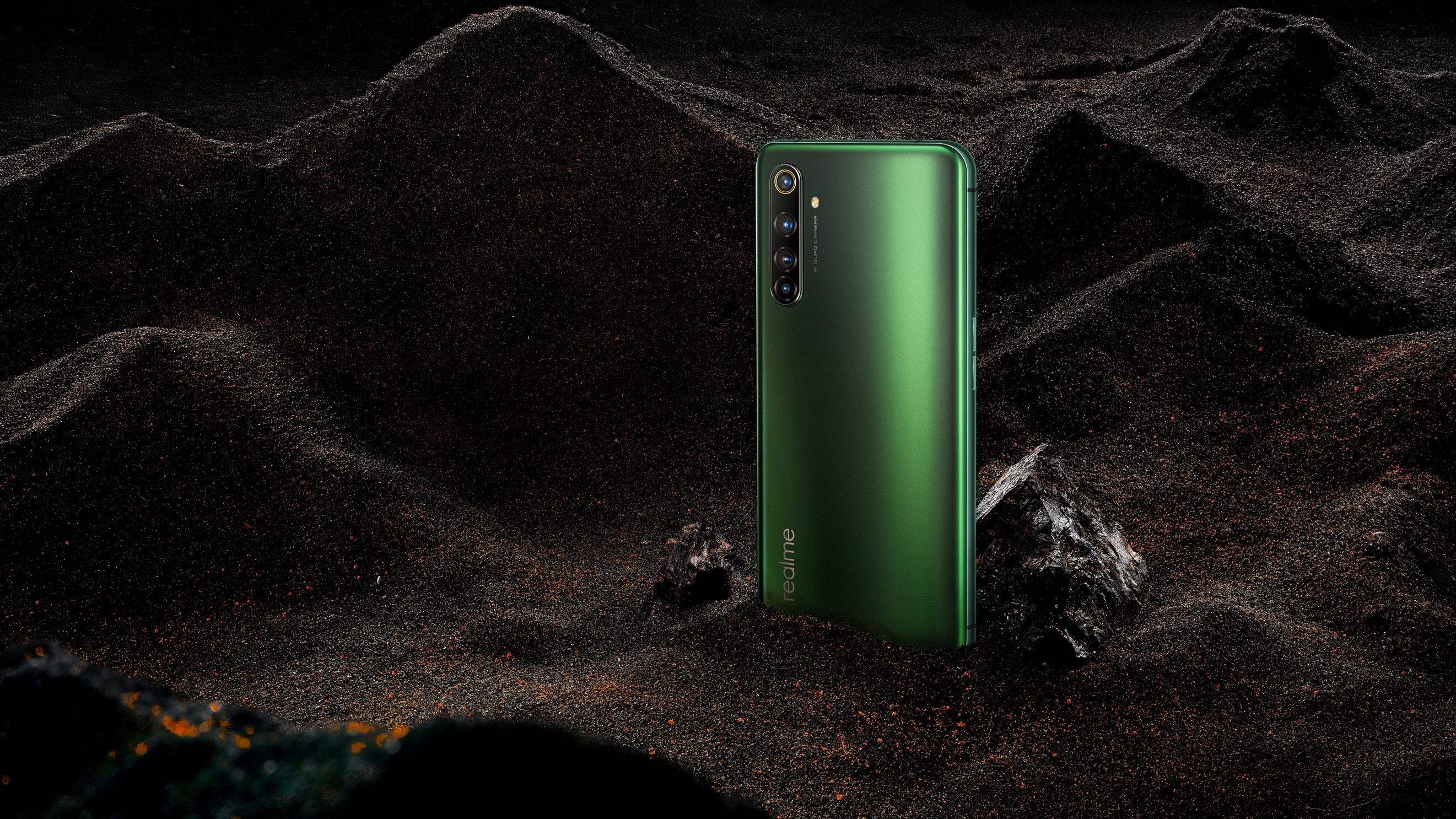 realme X50 Pro 5G – verde muschio