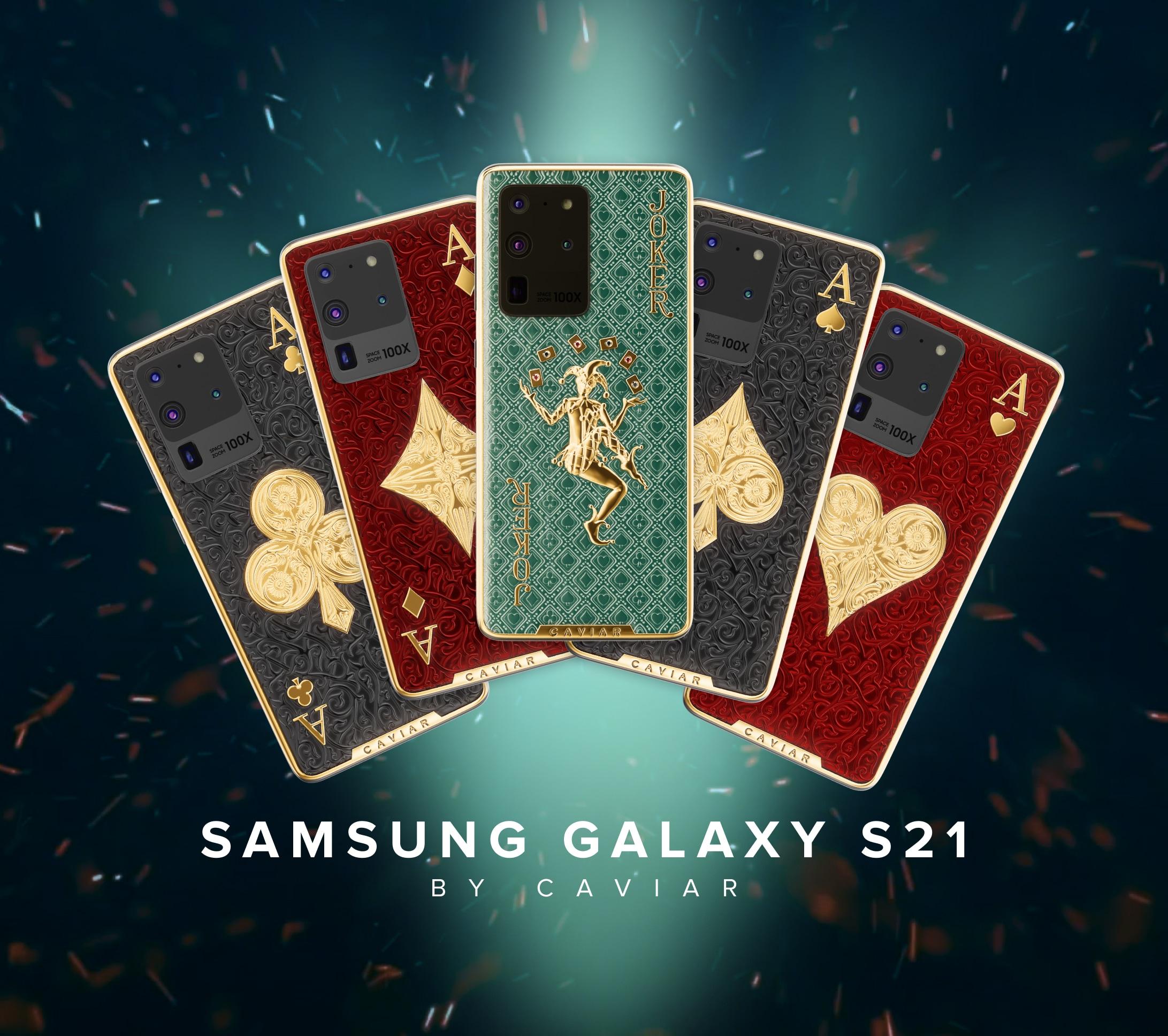 Samsung fa 20, Caviar fa 21! Ecco Galaxy S21 Ultra, il nuovo re degli smartphone tamarri (foto)