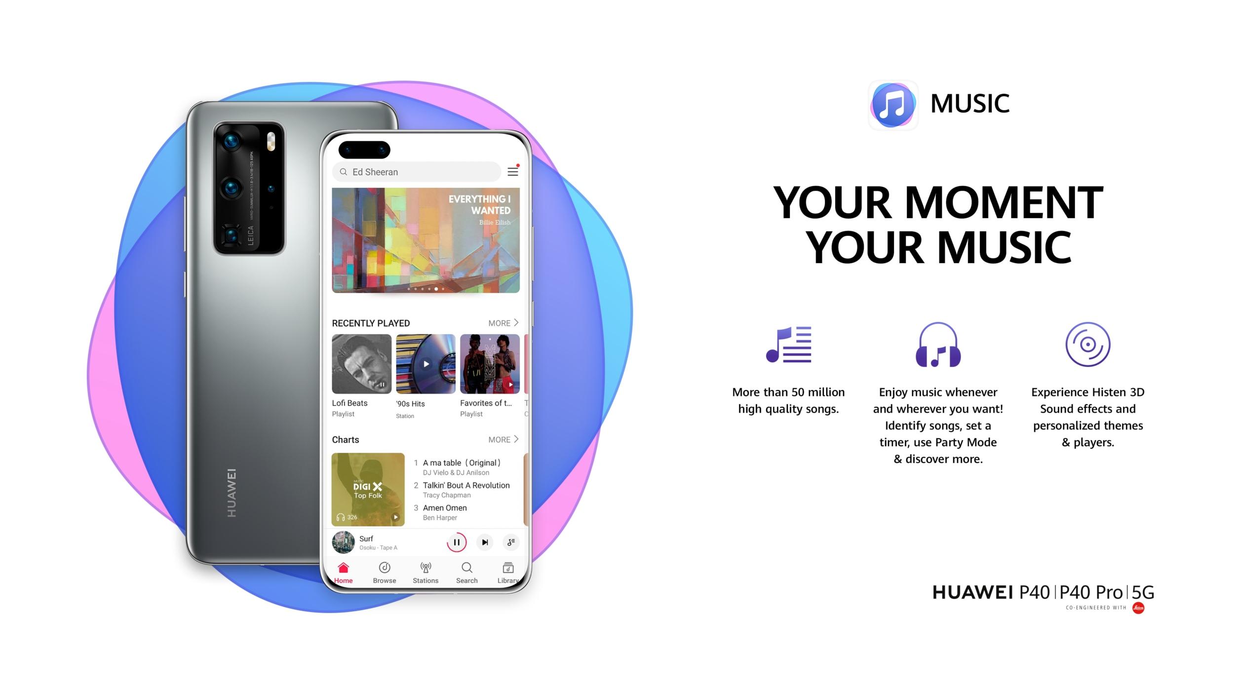 Voglia di cambiamenti? Continua la promo gratuita relativa a Huawei Music e Huawei Video