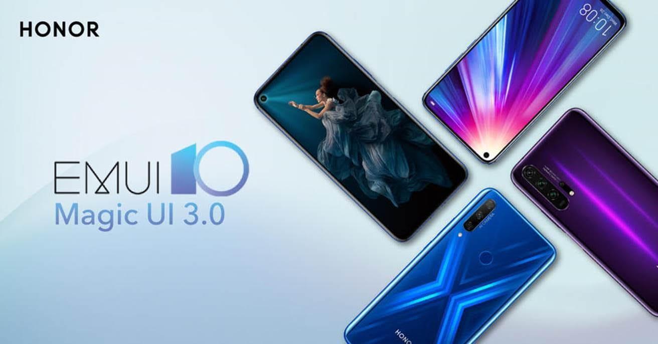 Android 10 con Magic UI 3.0 su Honor 20 / 20 Pro, View 20 e 9X, altri modelli a seguire (aggiornato: comunicato per l'Italia)