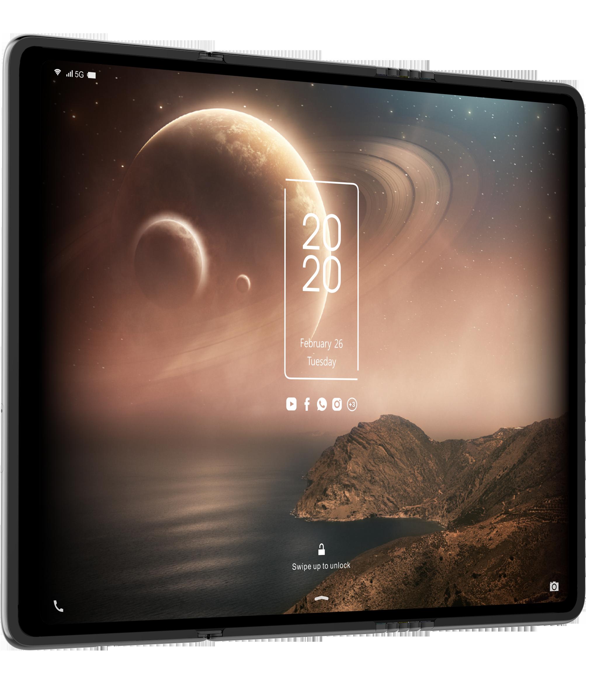 Tri-fold display concept-image 4