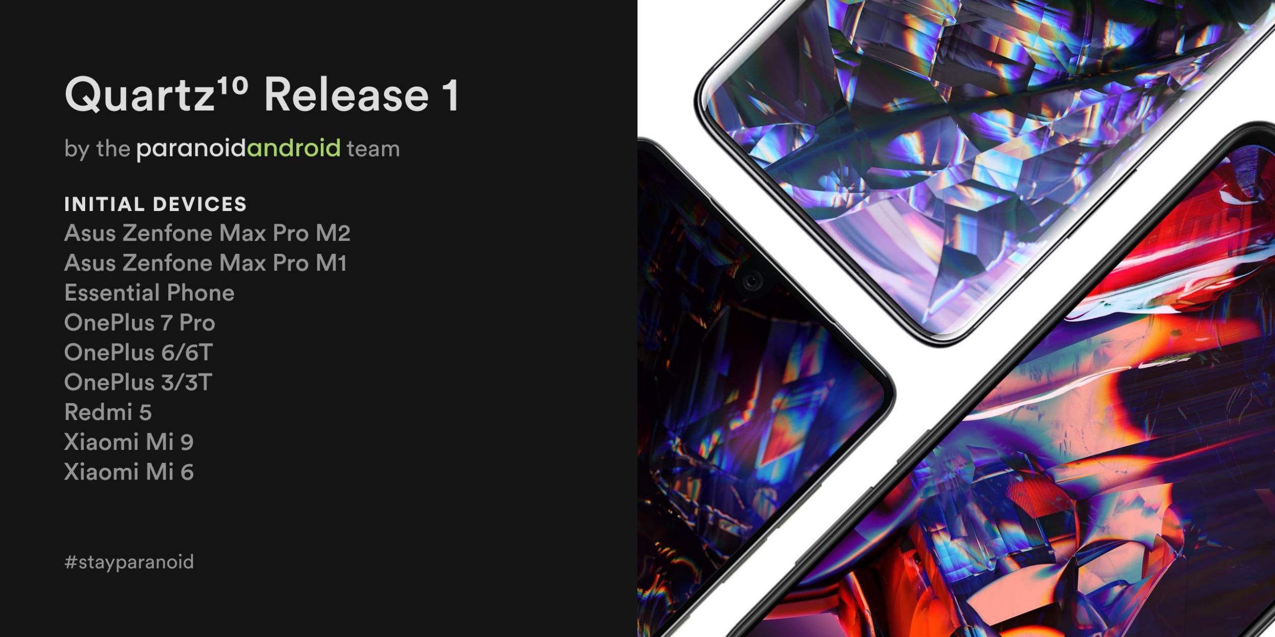 Paranoid Android alla riscossa! Arriva la prima stabile di Android 10: ecco le funzionalità e dispositivi supportati (aggiornato: arriva Quartz 2)