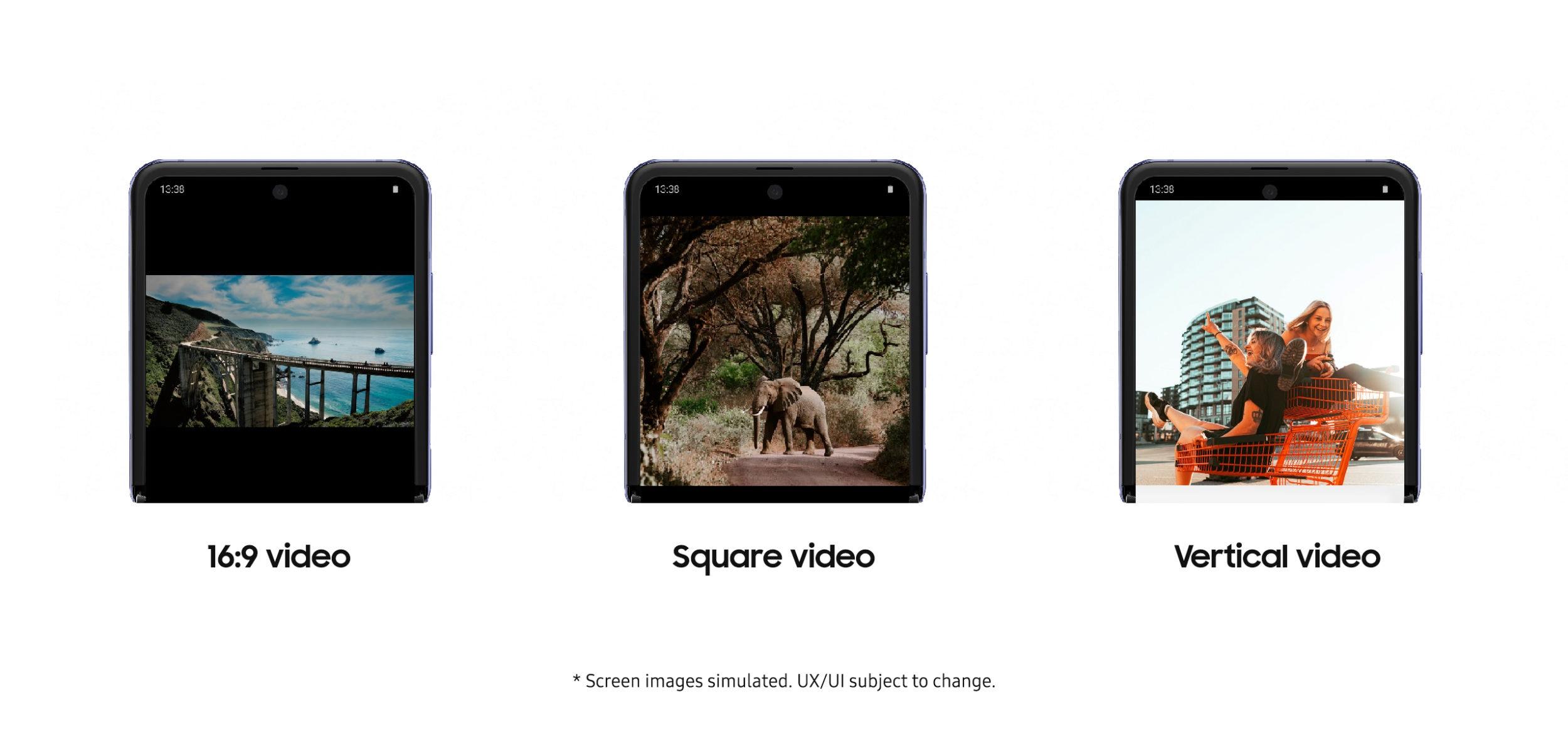 YouTube si aggiorna per ottimizzare la visione sullo schermo pieghevole di Samsung Galaxy Z Flip (foto)