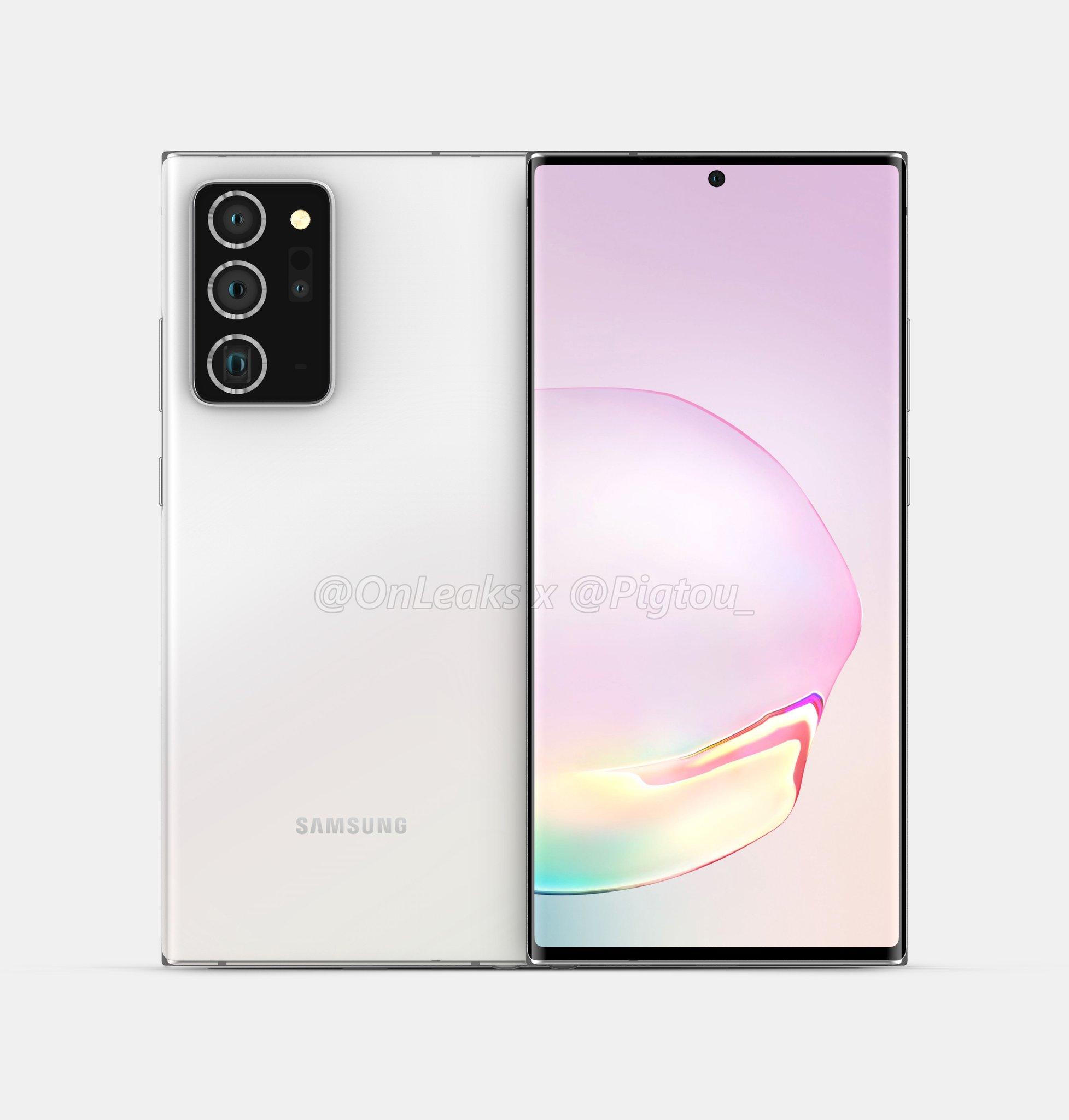 C'è una nuova voce sulle fotocamere di Galaxy Note 20, va in controtendenza ma può essere plausibile