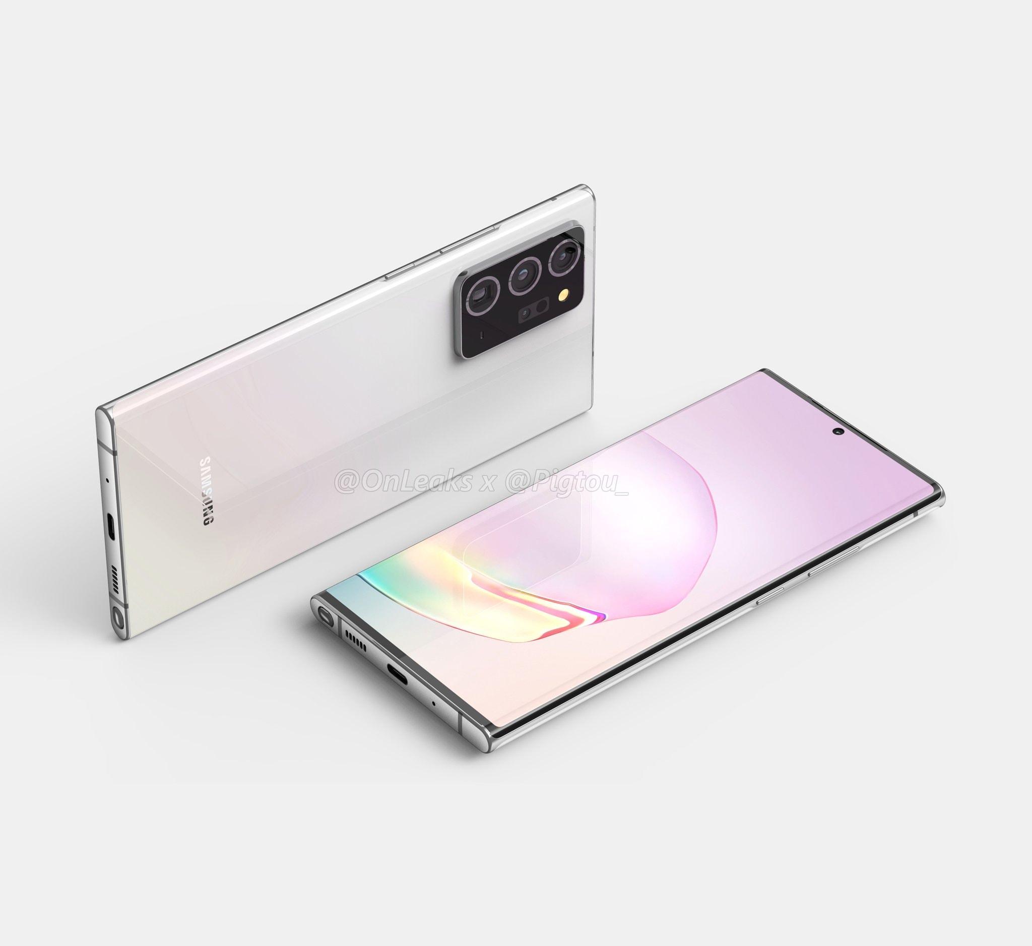 Samsung Galaxy Note 20 potrebbe avere un display ben al di sotto delle aspettative