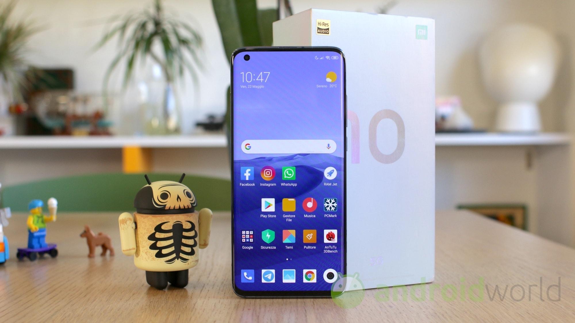 Xiaomi Mi 10 si aggiorna alla MIUI 12.5 in Italia!