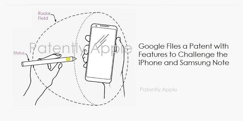 Google avrebbe già pronta la risposta ad Apple Pencil e alla S-Pen di Samsung (foto)