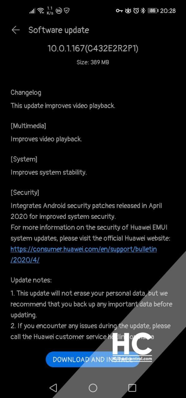 huawei-p40-lite-patch-sicurezza-aprile-2020