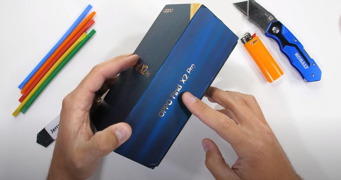Il nuovo Oppo Find X2 Pro con retro in pelle vegana resisterà meglio del precedessore ai test di Zack? (video)